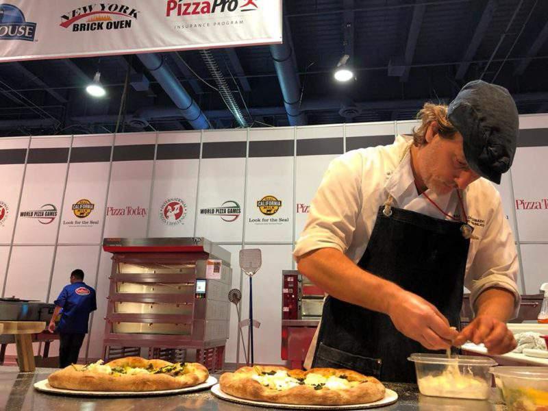 pizza competition Szabolcs Szabadfi