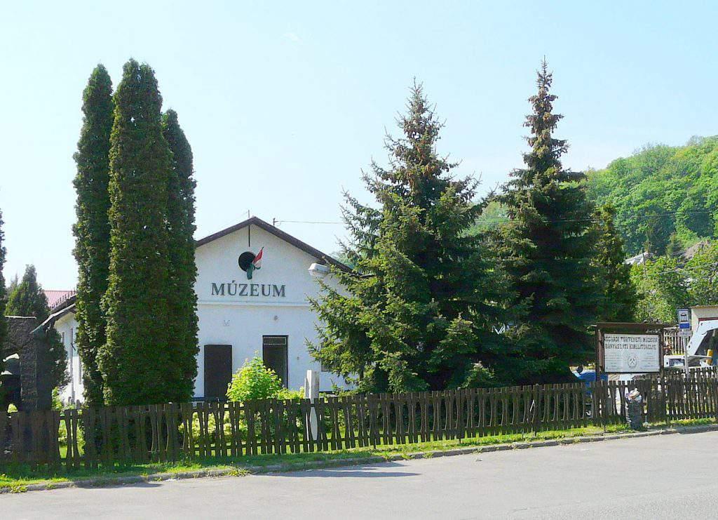 Salgótarján Nógrád megye county bányamúzeum mine museum