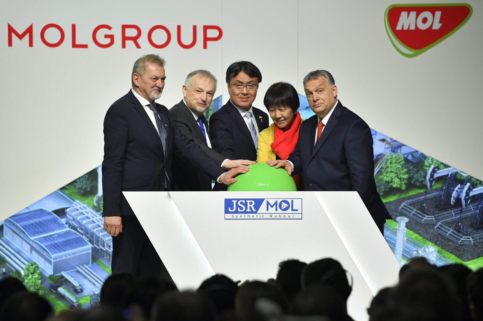 mol Japan Synthetic Rubber Corporation jsr