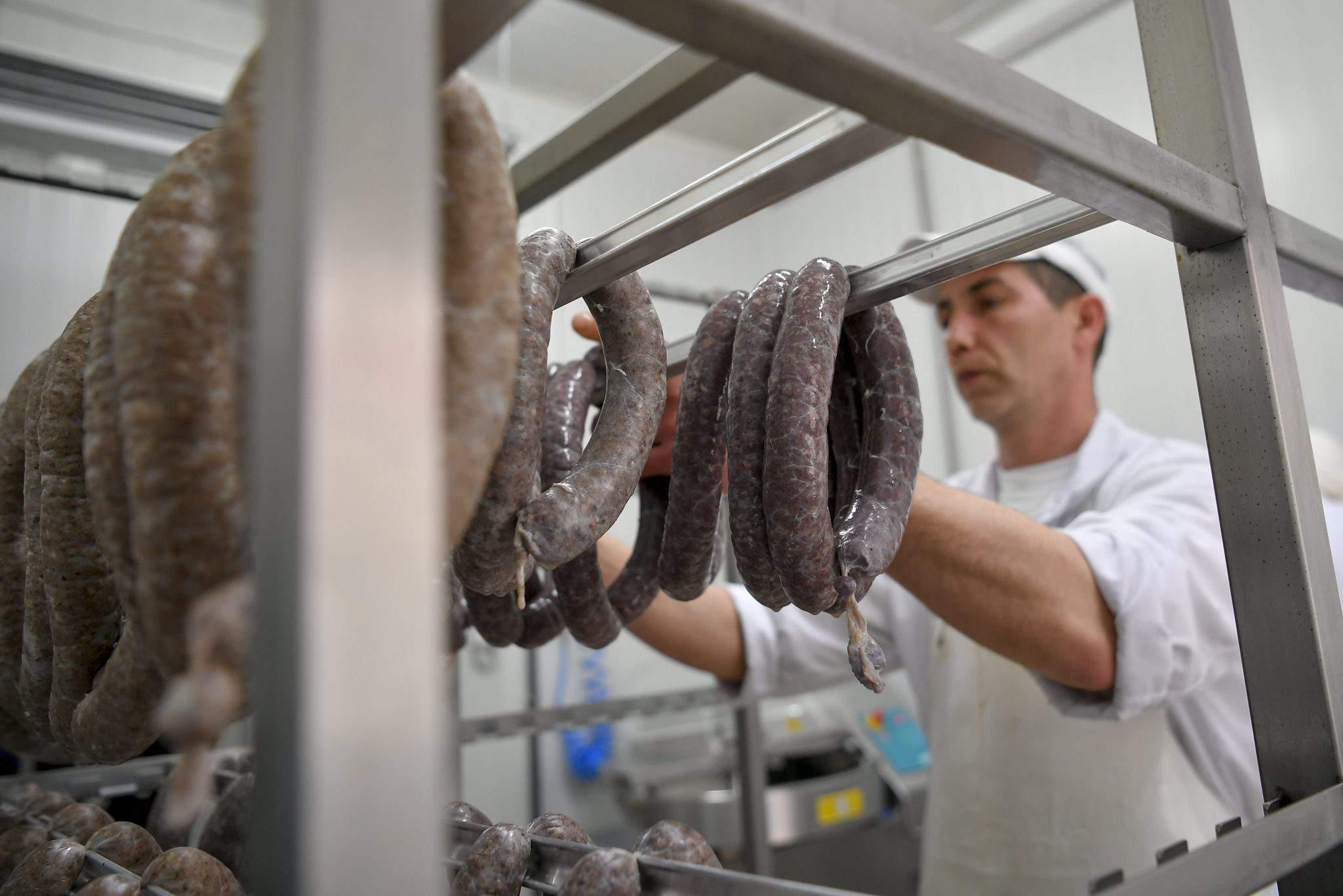 meat sausage Hungary