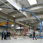 THYSSENKRUPP TOPS OUT HUF 11 BN PLANT IN DEBRECEN