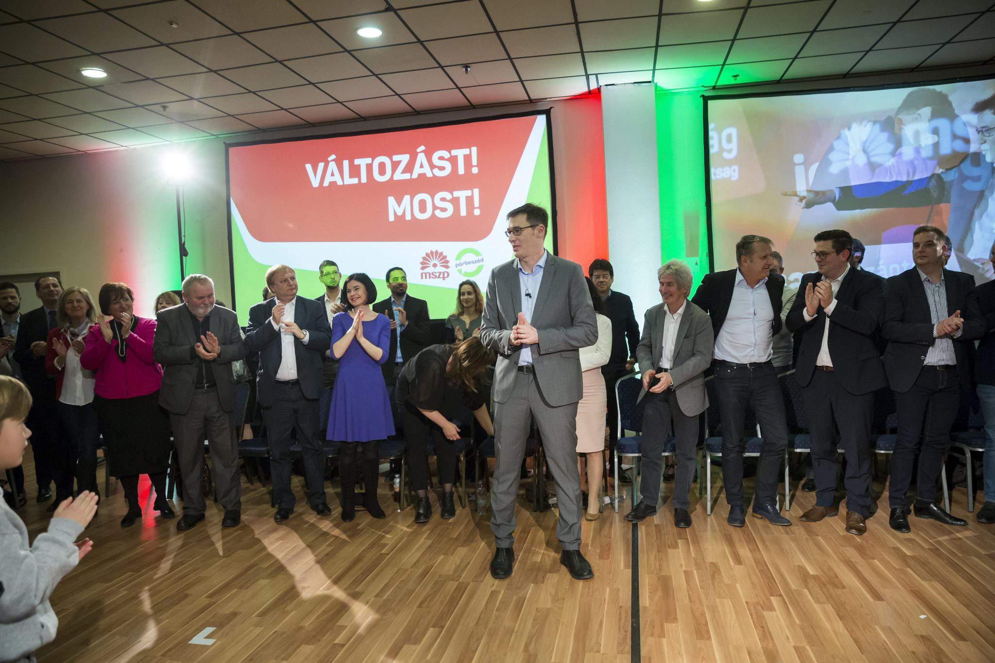 PM candidate Hungary leftist Karácsony