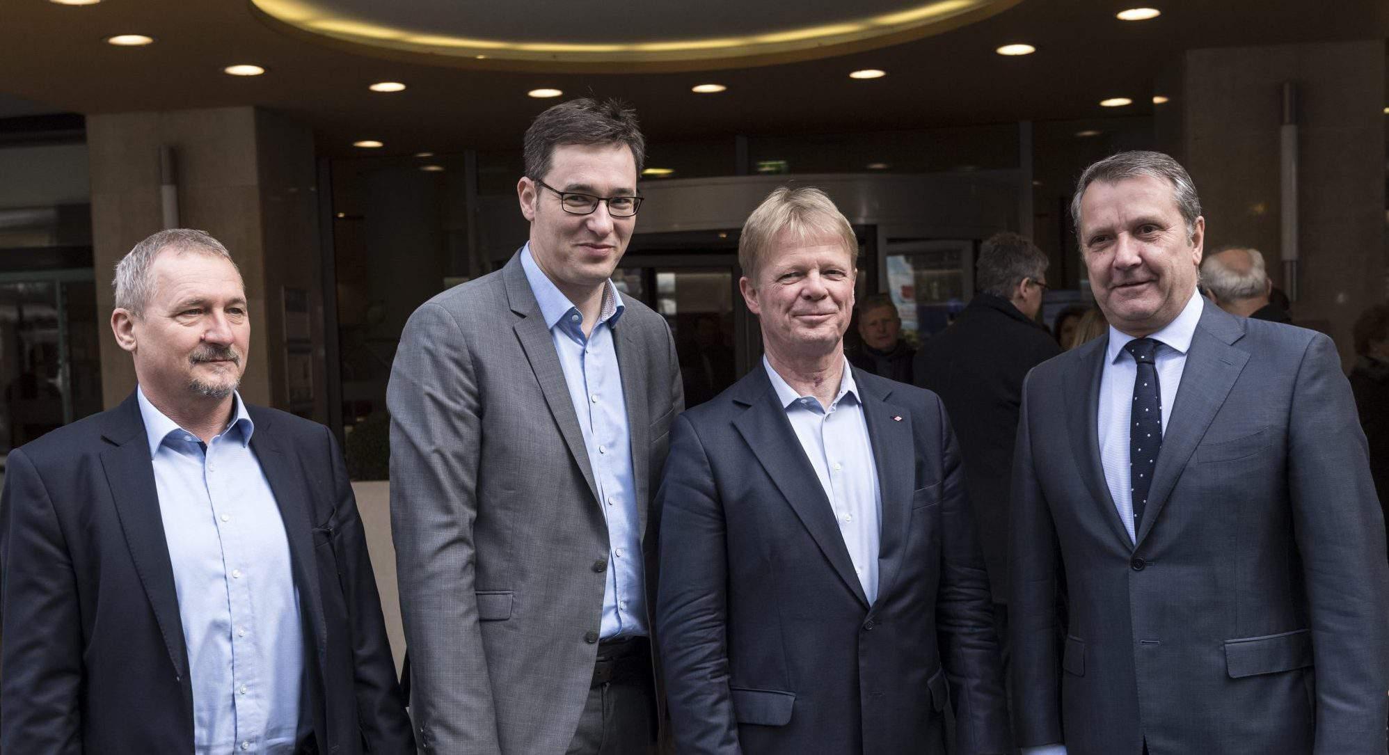 PM candidate Hungary leftists Karácsony Gergely Reiner Hoffmann