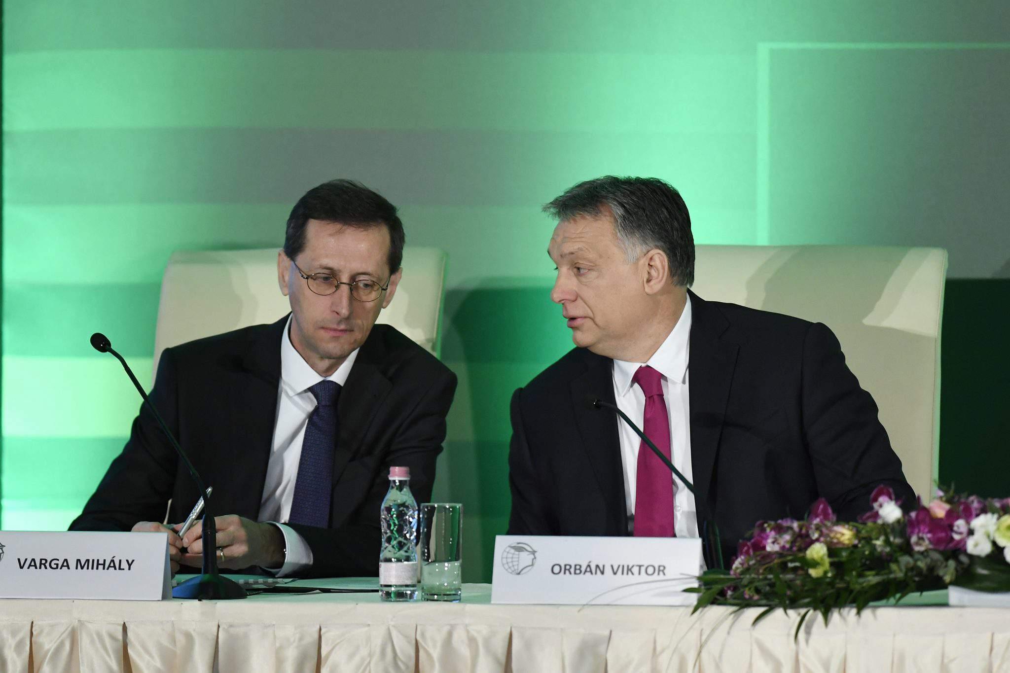economy minister Hungary Orbán prime minister
