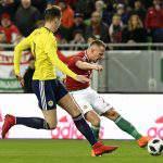 Improved Hungary slip to single-goal loss against Scotland
