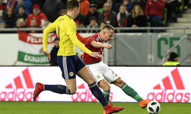 Improved Hungary slip to single-goal loss against Scotland
