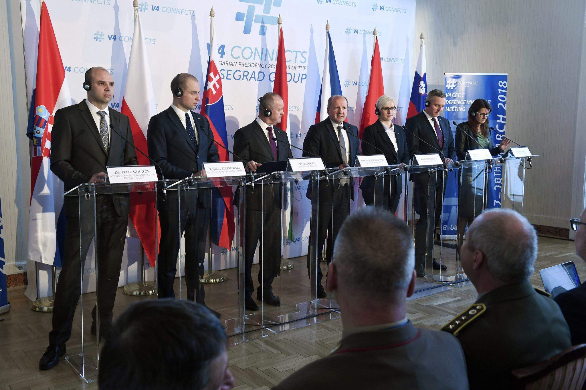0f33f8dfb The security of the central European region is a guarantee of Europe's  future, Defence Minister