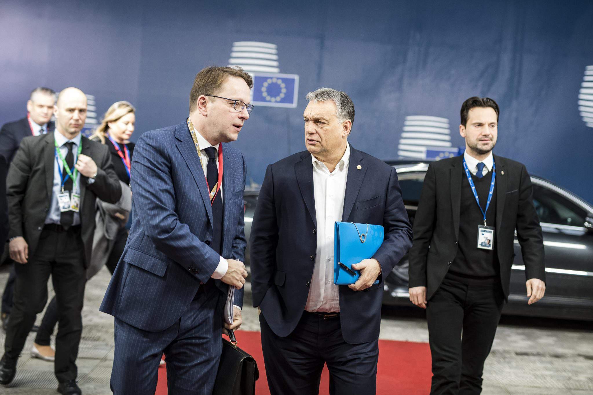 Orbán in Brussels