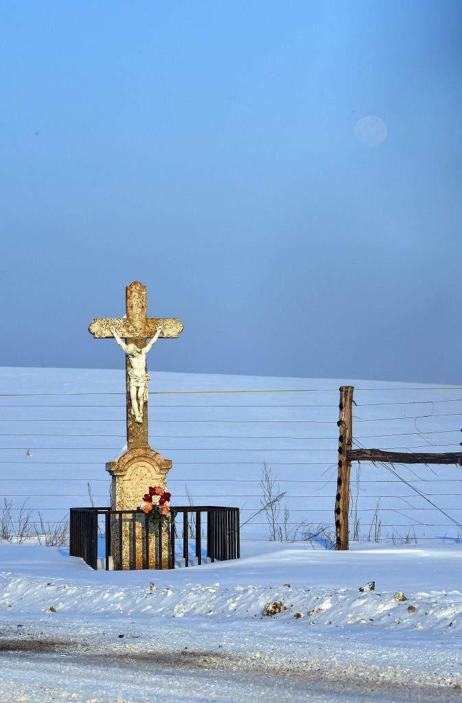 snow Bakony Hungary
