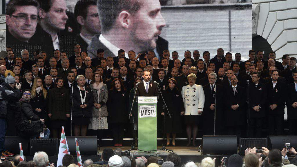jobbik party Vona PM candidate