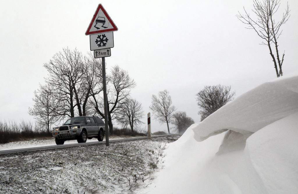 snow Hungary