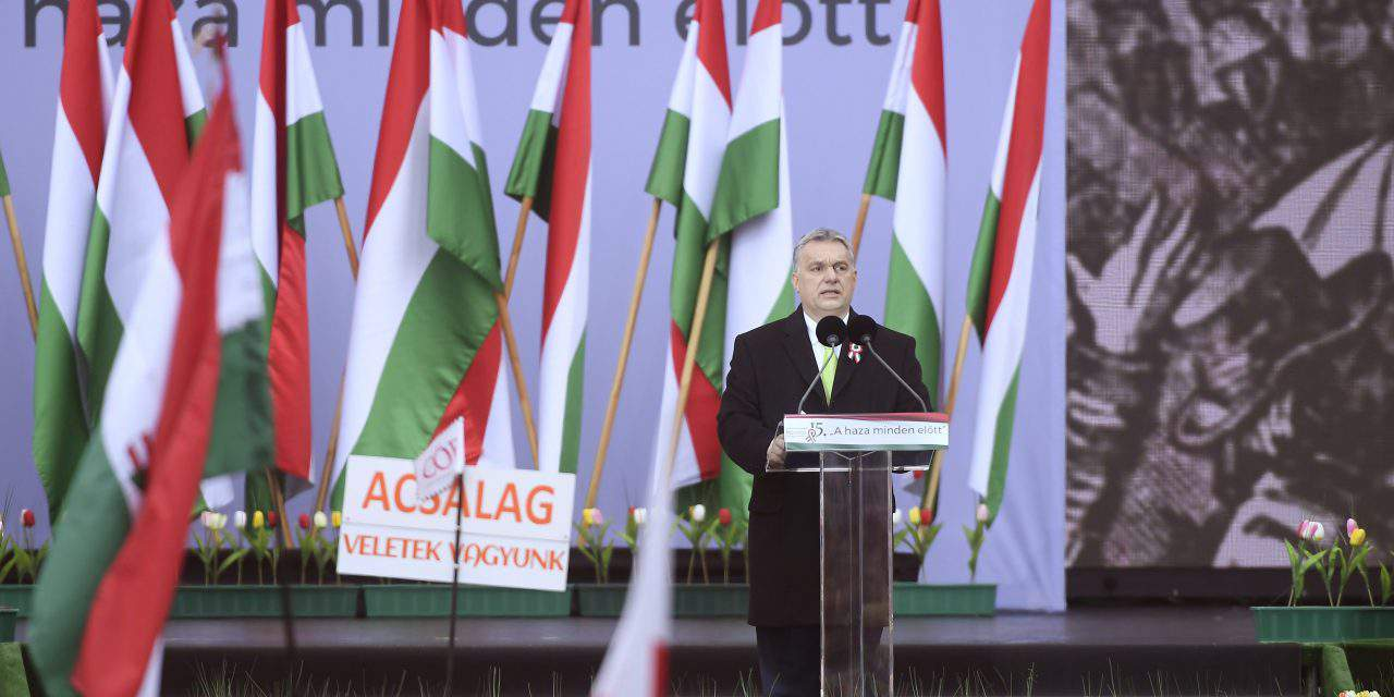 March 15 – Orbán: 'We will fight for our homeland till the end'