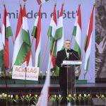 orbán viktor march 15 flag revolution