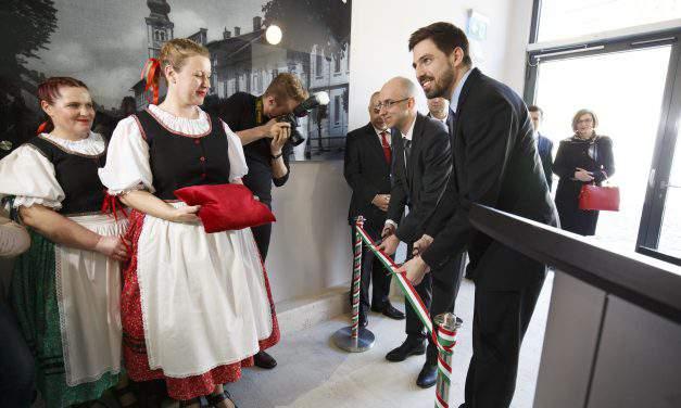 Consulate general opens in Lendava, Slovenia