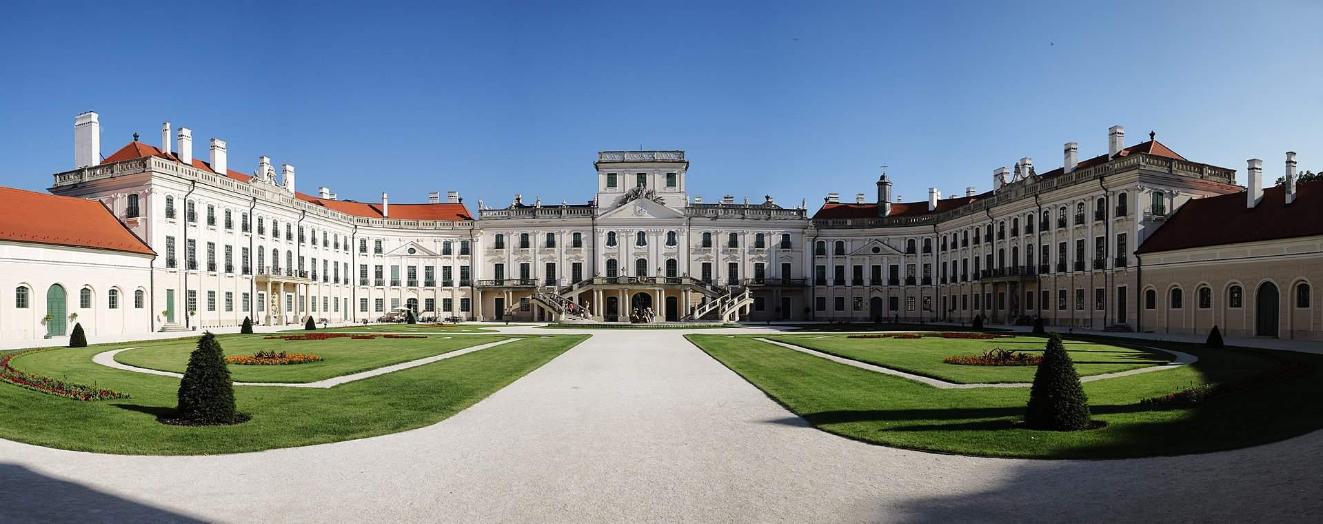Eszterházy castle Fertőd