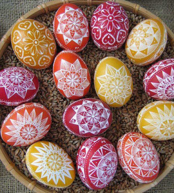 painted decorated egg easter