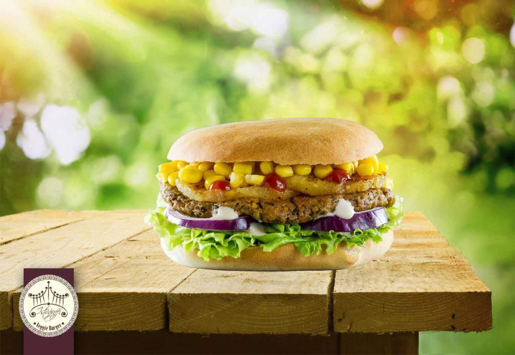 Istvánffy Veggie Burger