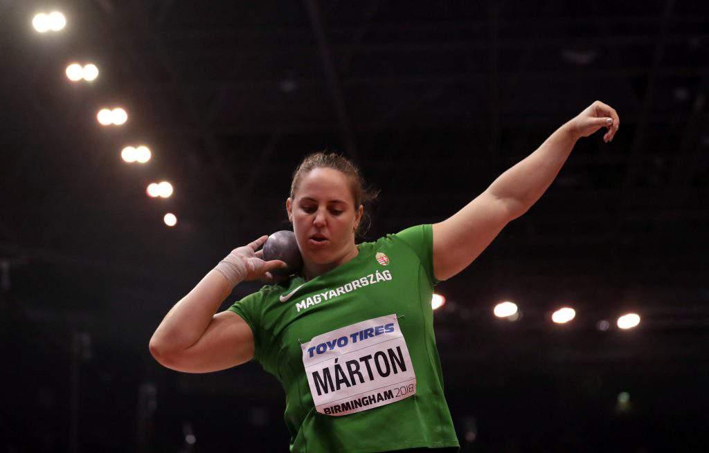 Márton Anita success championship