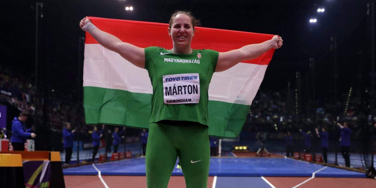 ATHLETICS BREAKTHROUGH: Anita Márton, World Champion in shot put – VIDEO