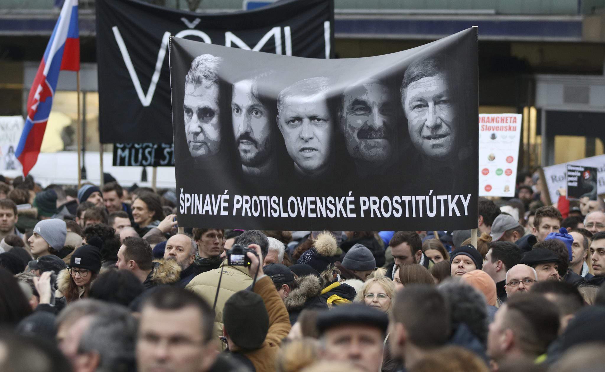 Bratislava soros demonstration
