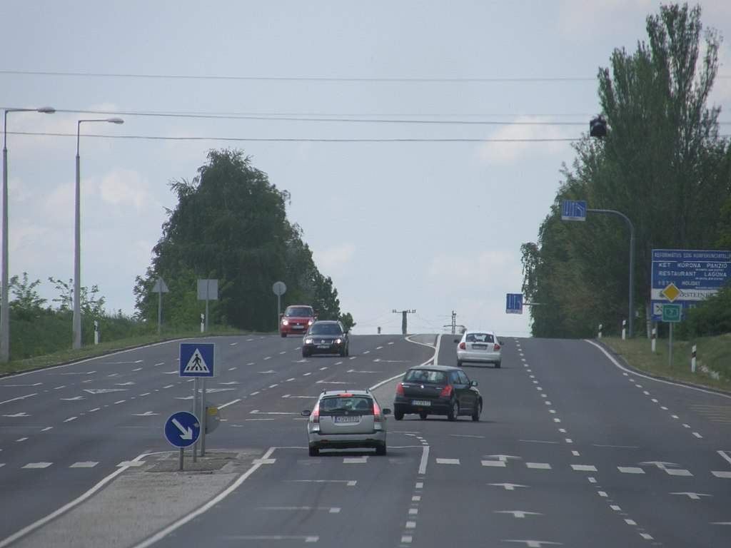 road, Hungary