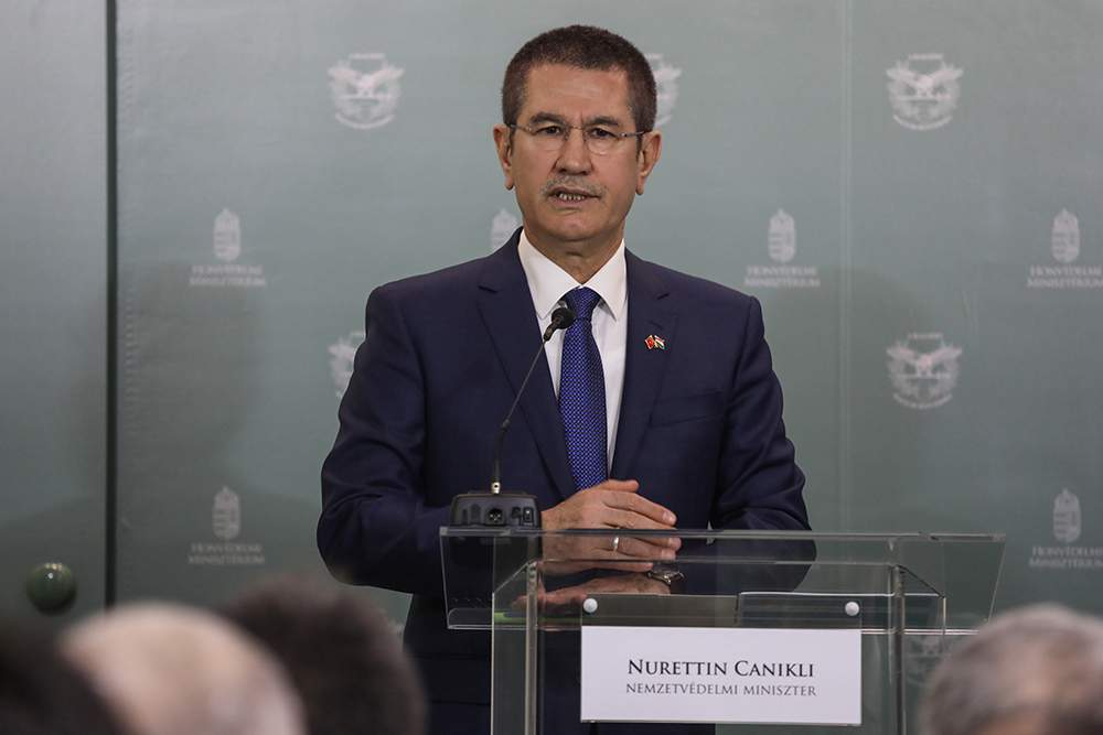 turkish minister in Budapest