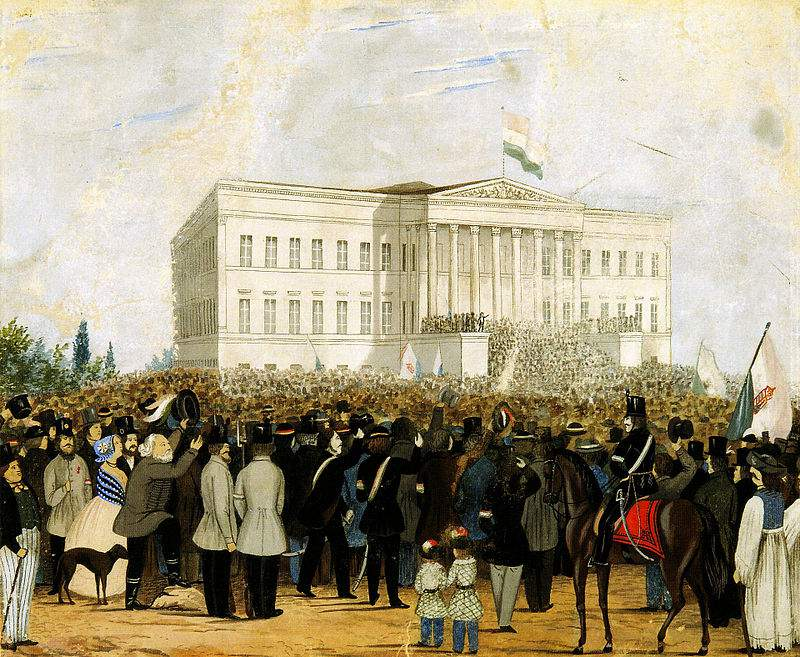 National Museum 1848 revolution