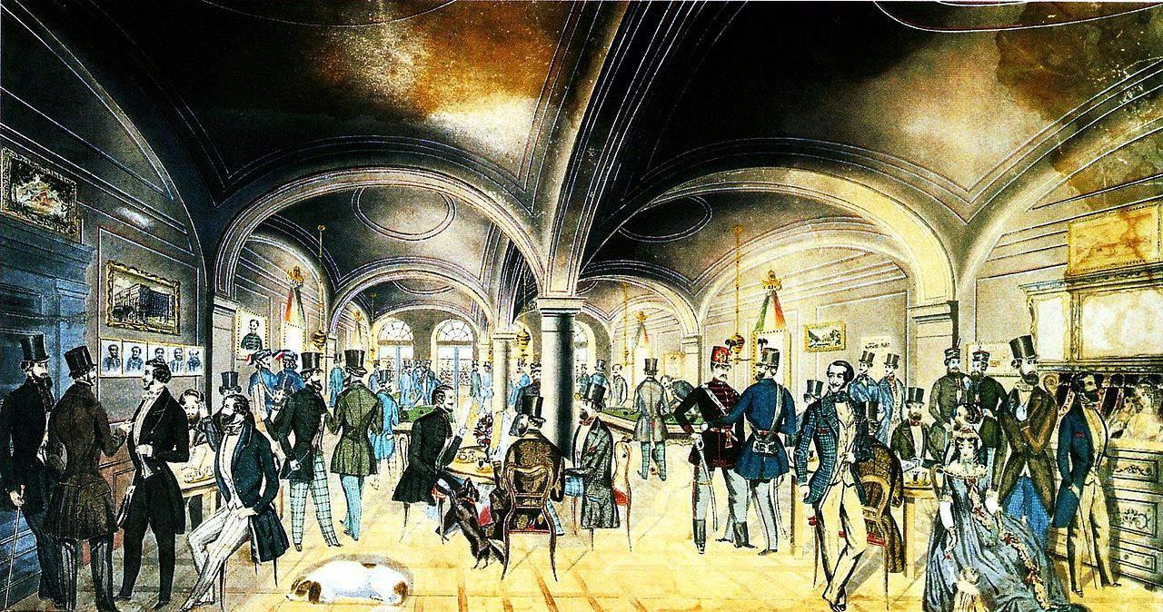 Pilvax Café 1848 revolution