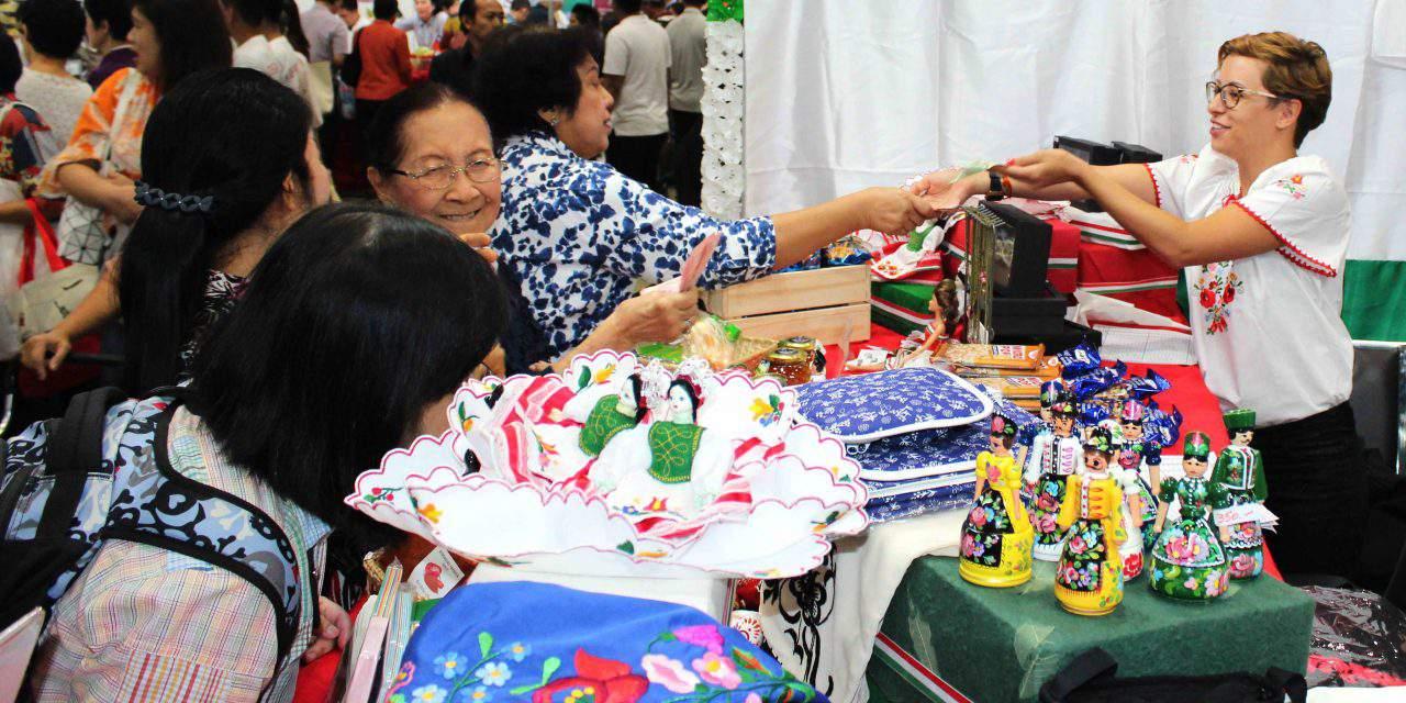 Hungarian kalocsai embroidery is conquering Bangkok