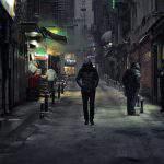 walk alone night dark