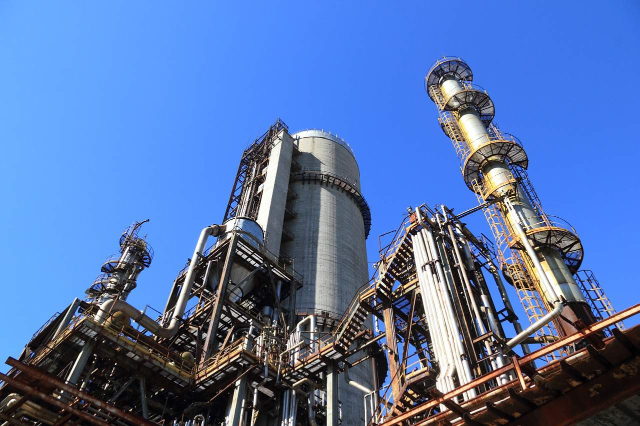 chemical plant gas
