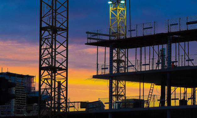Construction output jumps 26 per cent in February