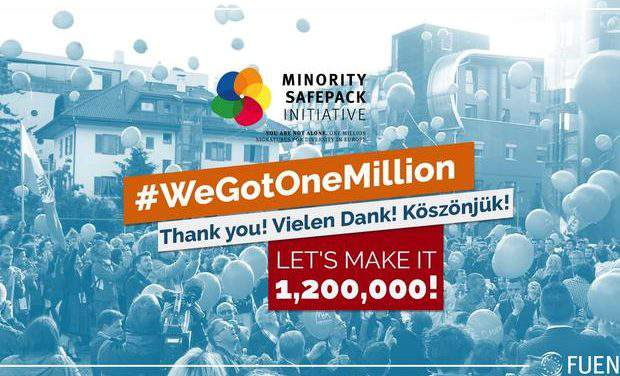Minority Safepack over 1 million signatures!