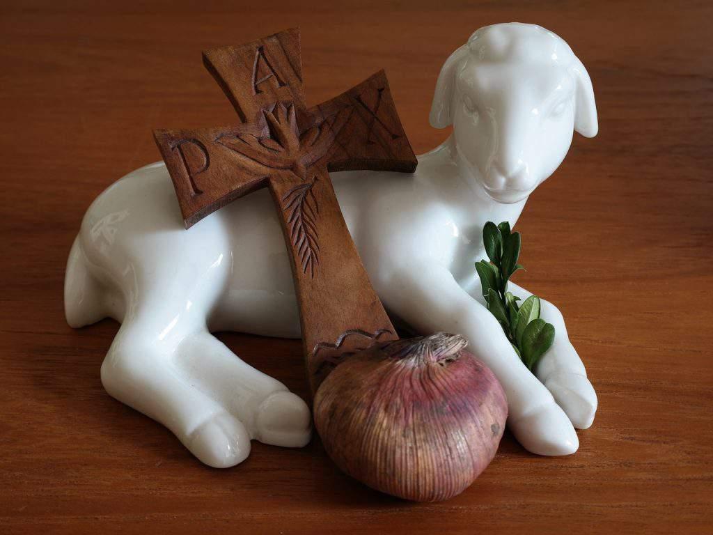 easter lamb christian