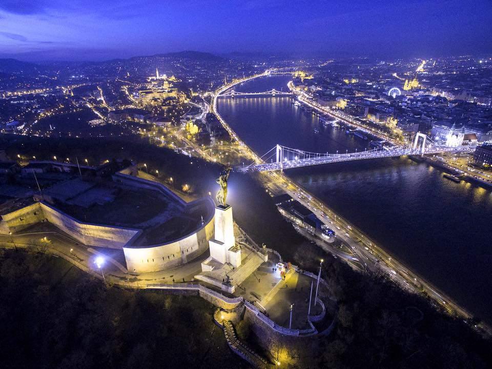 Budapest night photography