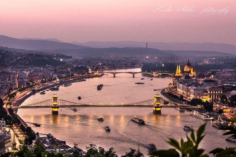Budapest panorama photography