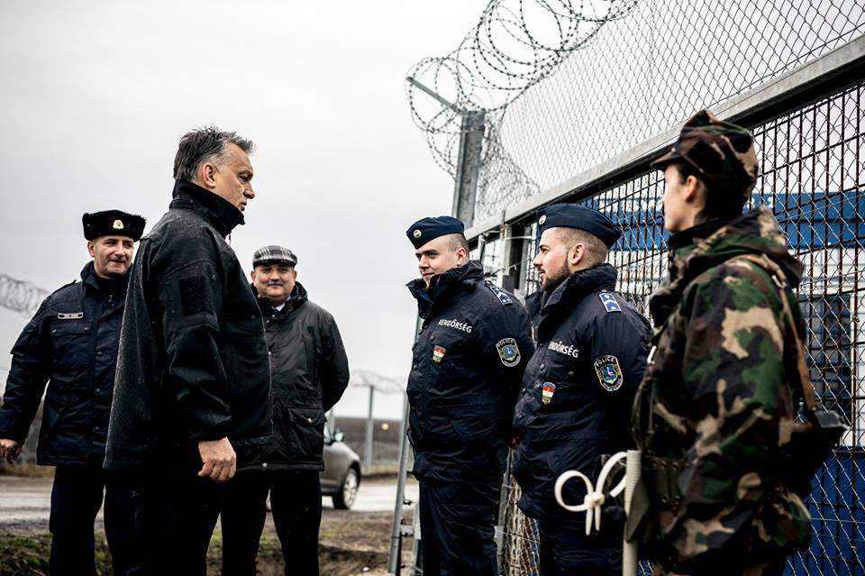 Orbán inspects border fence with Serbia – Photos