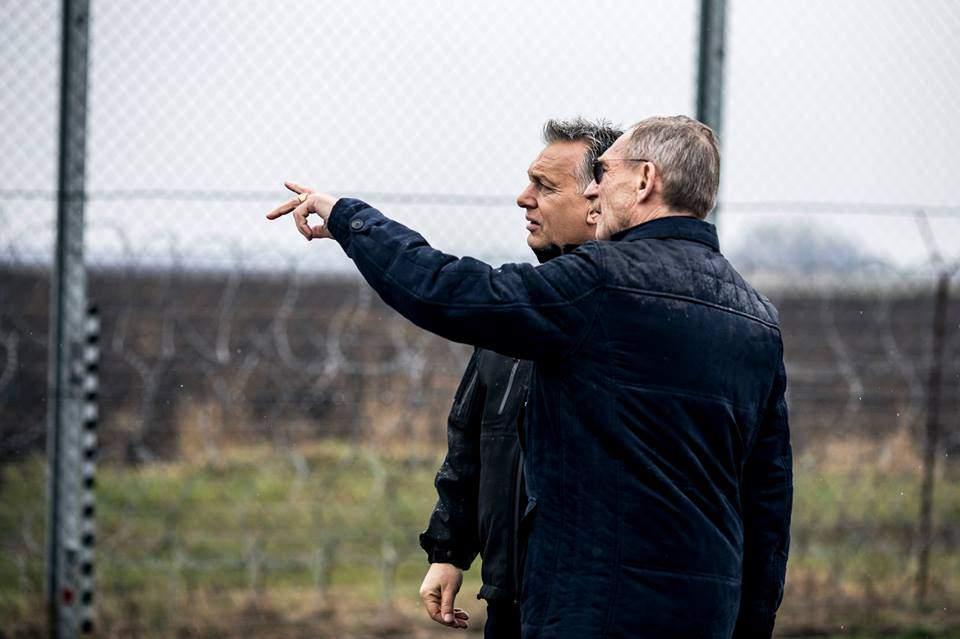 orbán viktor prime minister hungary border fence serbia