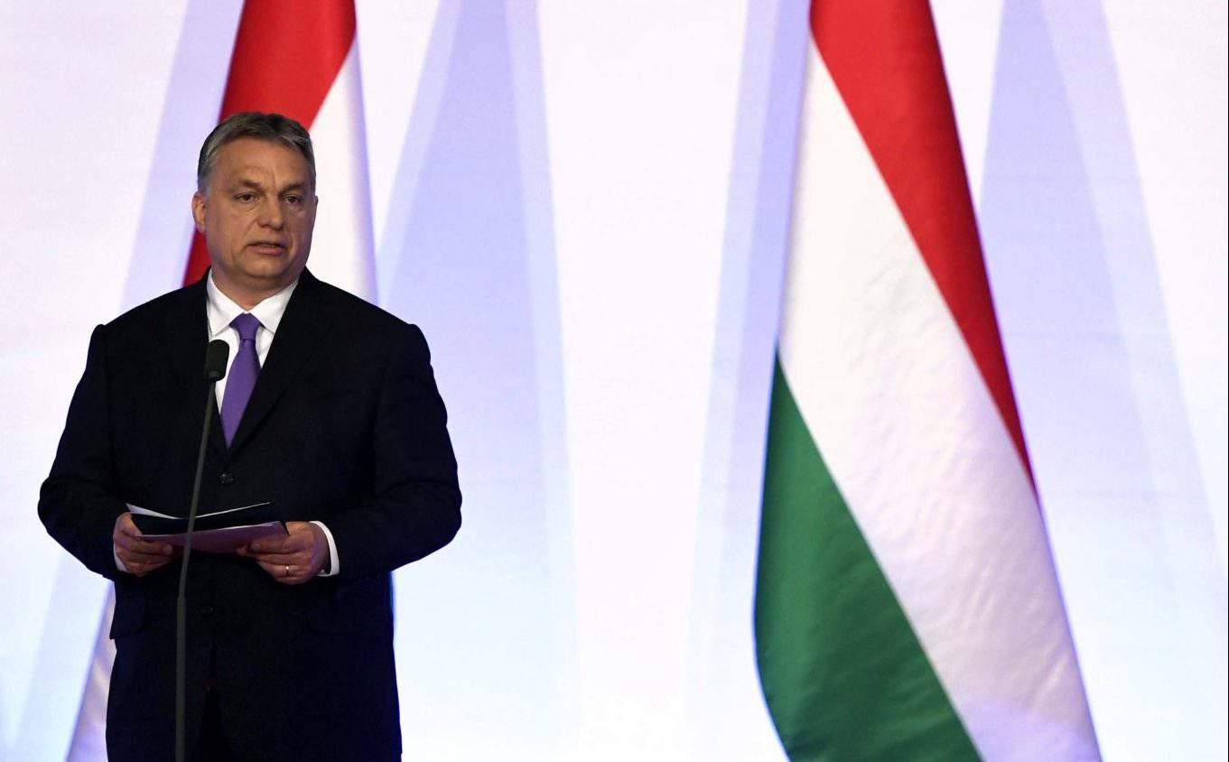 Viktor Orbán flag