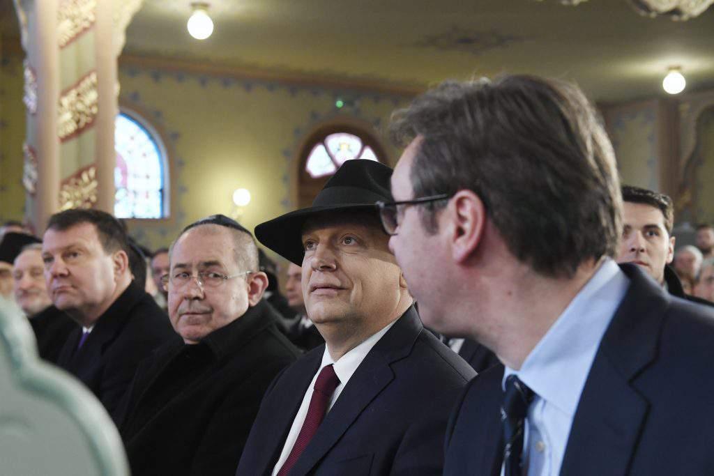 Orbán Vucic Serbia ethnic