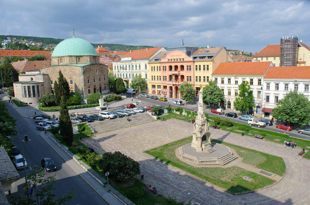 pécs city center