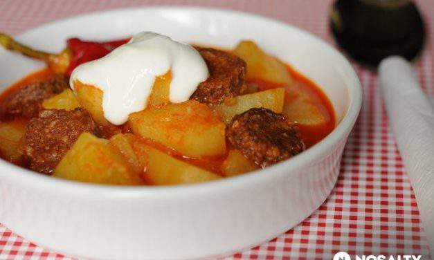 Recipe of the week: paprikás krumpli/potato paprikash