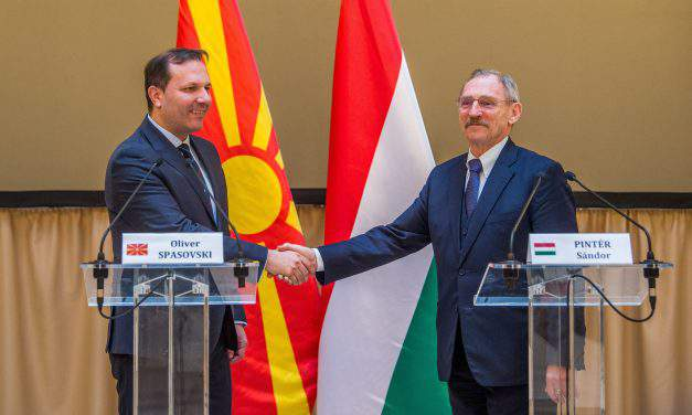 Hungary, Macedonia interior ministers sign police cooperation pact