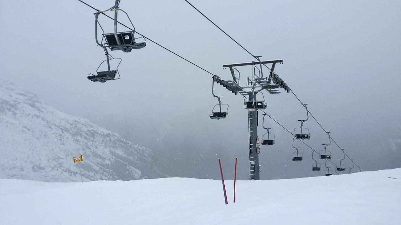 ski resort lift
