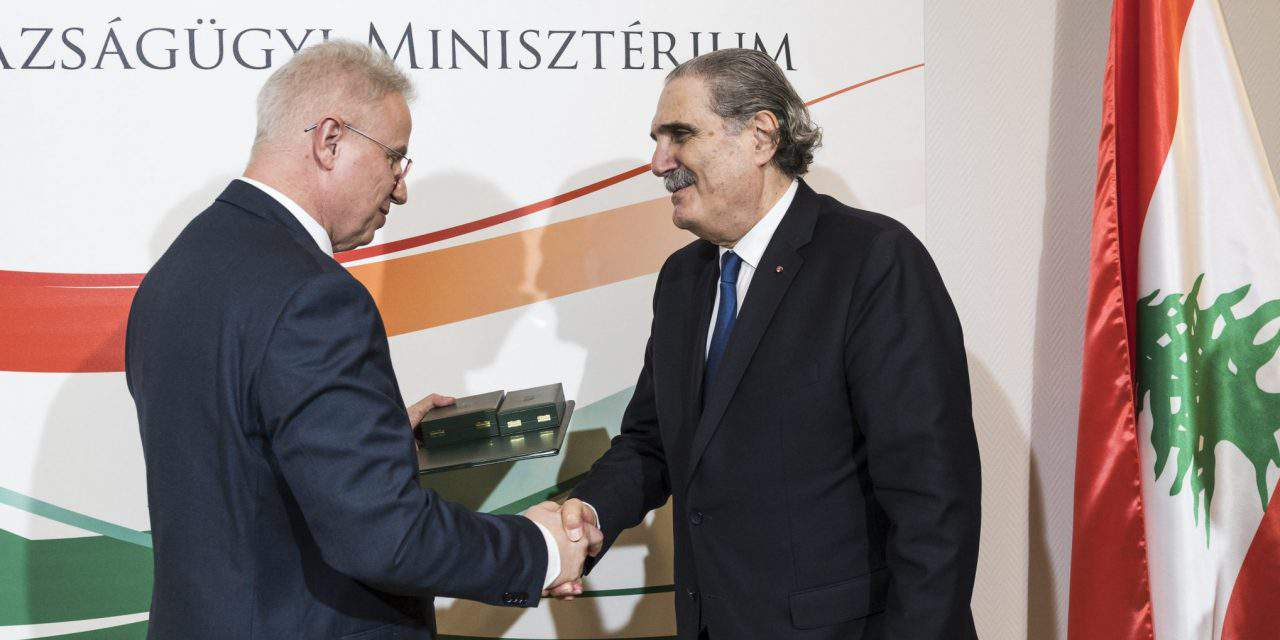 Hungarian, Lebanese justice ministers discuss migration, justice cooperation