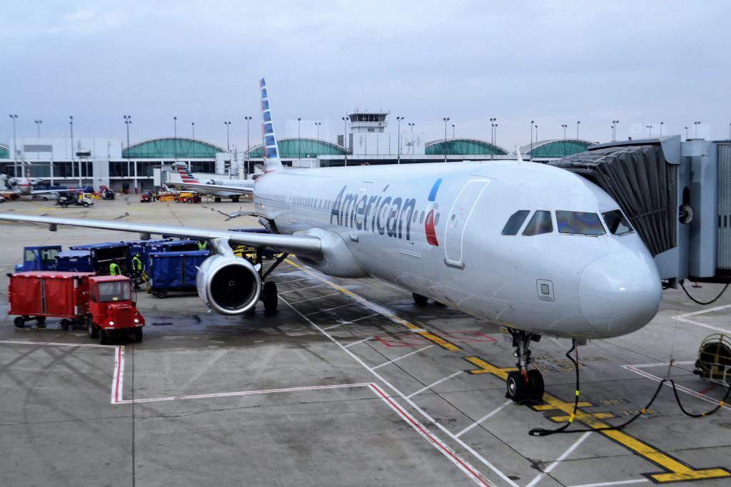 American Airways plane