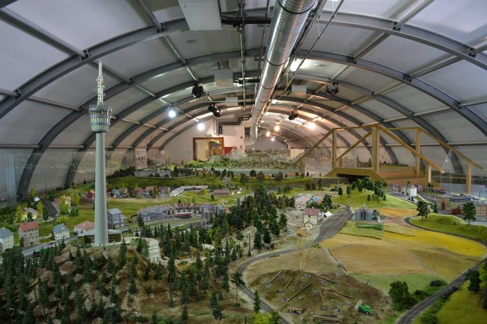 Keszthely múzeum museum vasút railway layout terepasztal
