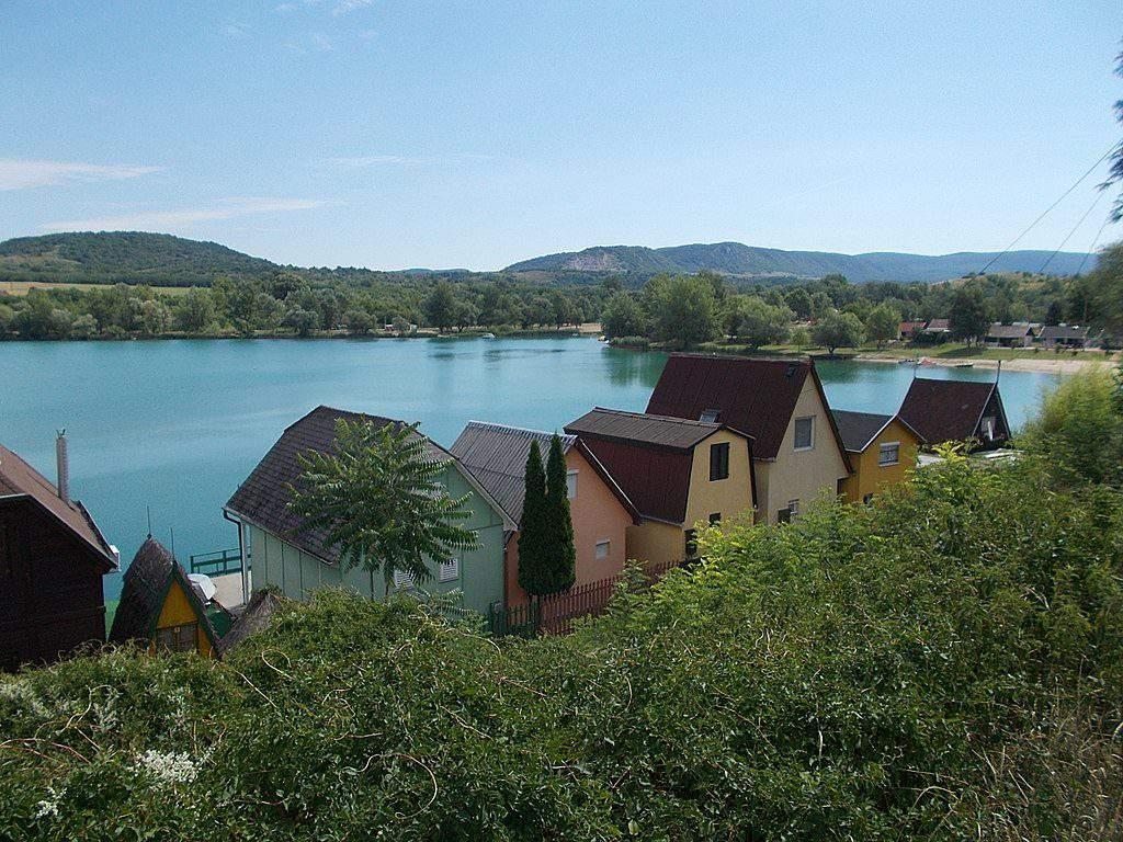 Esztergon Palatinus lake