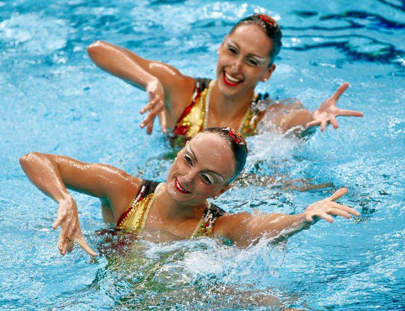 FINA swimming artistic synchronised
