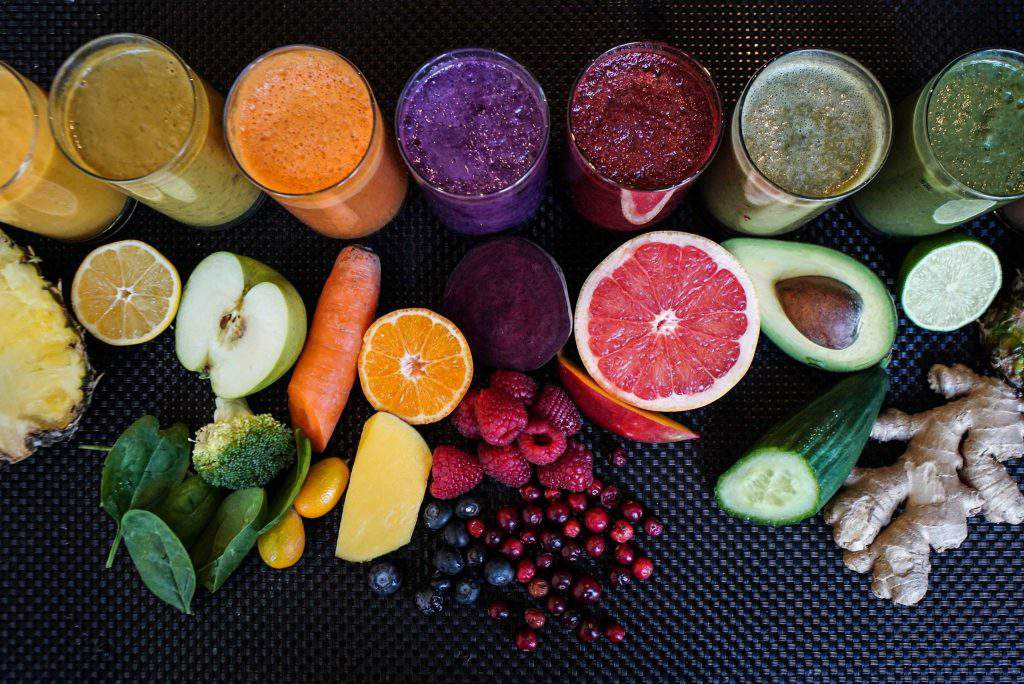 VegaCity restaurant fruit smoothie